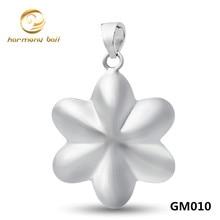 Joyería de moda de Plata Bola de La Armonía Colgante de Forma de Estrella Ángel Que Llama Bola Colgante Para Las Mujeres Embarazadas GM010