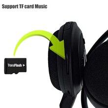 Mini Wireless Sports Stereo Bluetooth Headphones Headset Earphone Headband Foldable FM TF mp3 play handsfree calls for phone