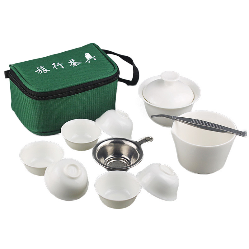 Easy Travel Portable Gong Fu Tea Ceremony Set