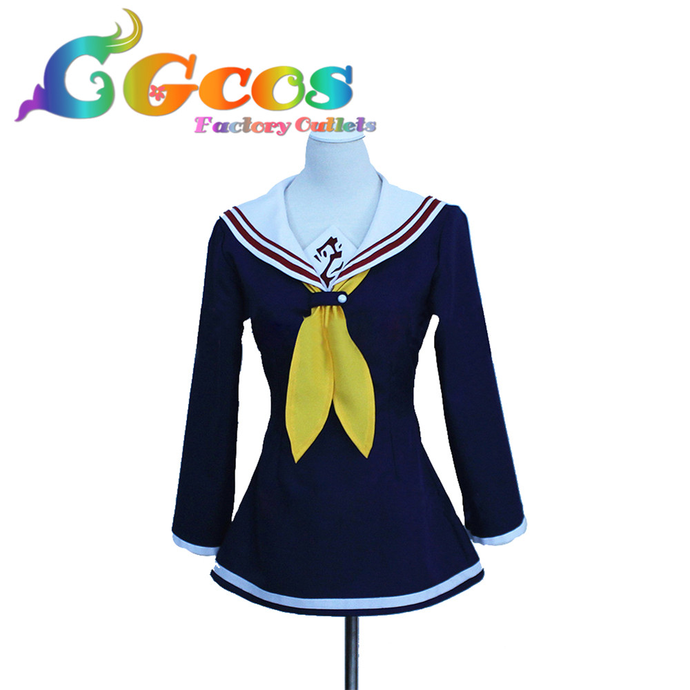 CGCOS Free Shipping Cosplay CostumeIs No Game No Life Shiro New in Stock Retail / Wholesale Halloween Christmas Party
