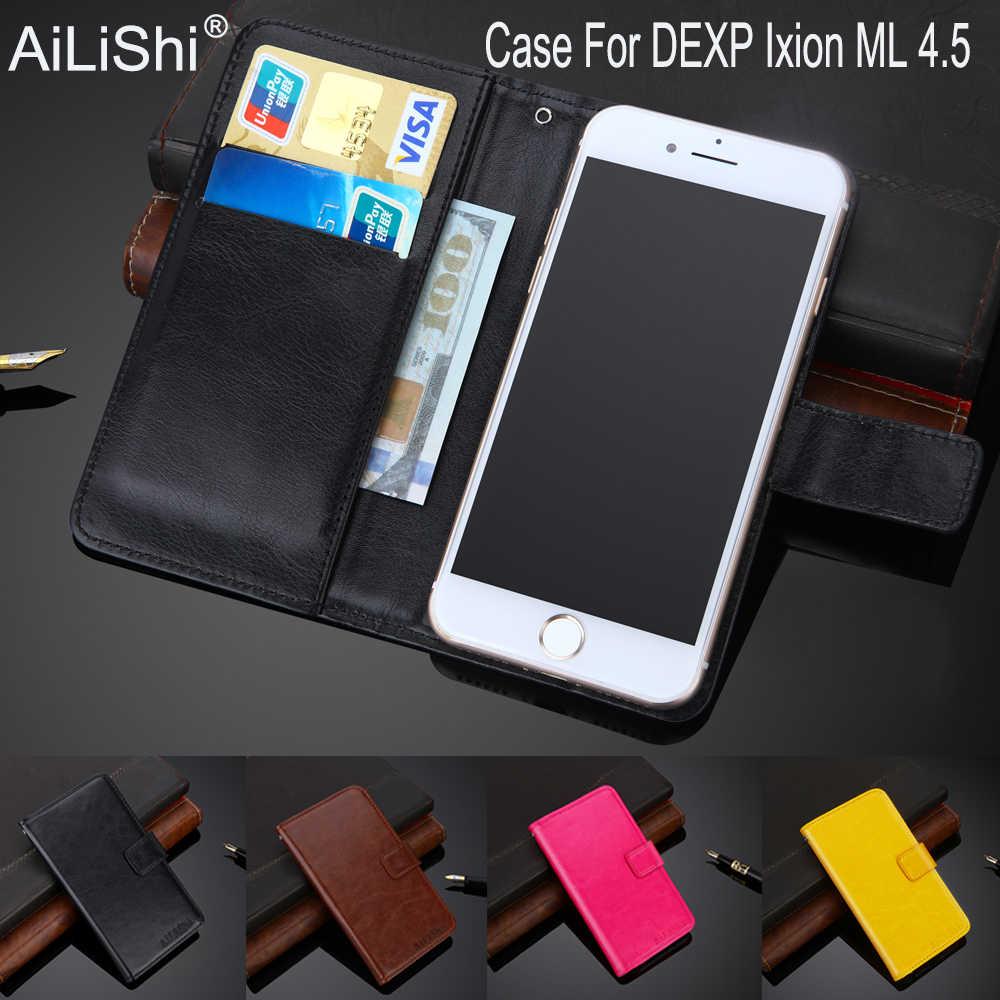 AiLiShi 100% Эксклюзивный чехол для dexp ixion ml 4,5 Роскошный кожаный чехол флип Высокое качество Чехол кошелек для телефона держатель + отслеживание