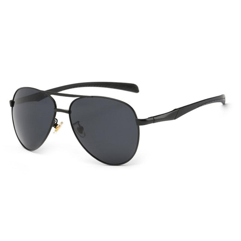 Fashion Polarized Men Pilot Sunglasses P8075 Driving Sunglasses UV400 for Men Sunwear Stylish Sun Glasses Mirror Coating