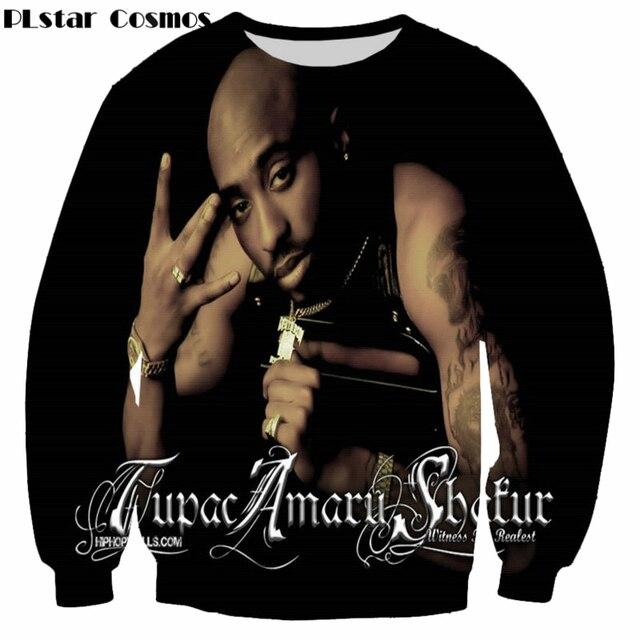 8c7fcc3f043a PLstar Cosmos 2018 New Fashion 3d sweatshirts Legend Rapper Tupac 2Pac  printed Men/Women pullover Harajuku casual hoodies