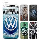 KMUYSL Retro Volkswagen Vw TPU Transparent Soft Case Cover Shell Coque for Samsung Galaxy S9 S8 Plus S7 S6 Edge