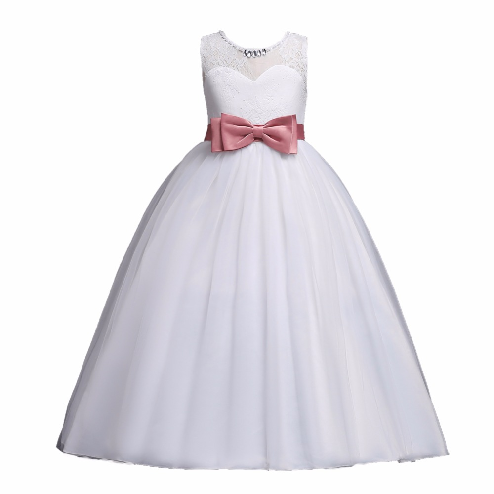 DIIMUU New Kids Pageant Evening Gowns 2018 Lace Ball Gown Flower ...