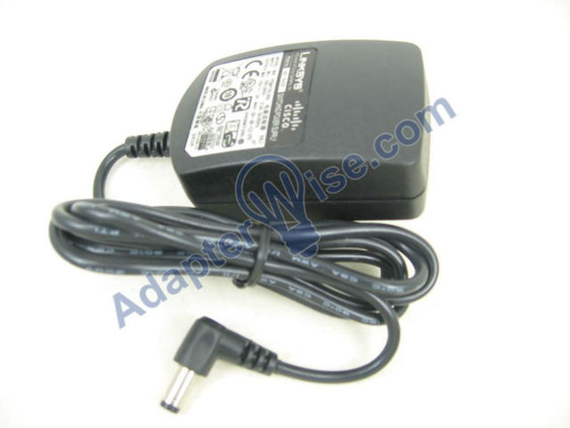 Original AC Power Adapter Charger for CISCO LINKSYS SPA921 IP Phone with 1-port Ethernet - 01566