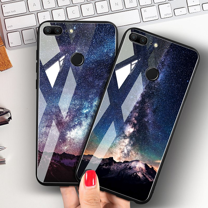 TOMKAS Space Case For Huawei P20 Lite Pro Mate 10 Lite Cases Cover P Smart Glass Coque Phone Case on for Huawei Honor 9 Lite 10 (14)