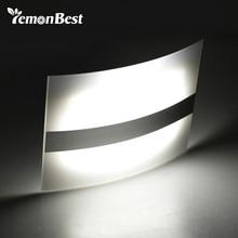 LED gece lambası alüminyum kasa ev aydınlatma parlak LED hareket sensör ışıkları aktif kablosuz duvar lambası aplik akülü