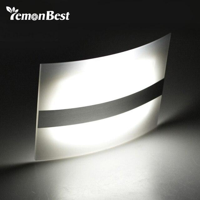 LED veilleuse boîtier en aluminium éclairage à la maison lumineux détecteur de mouvement LED lumières activé sans fil applique murale à piles