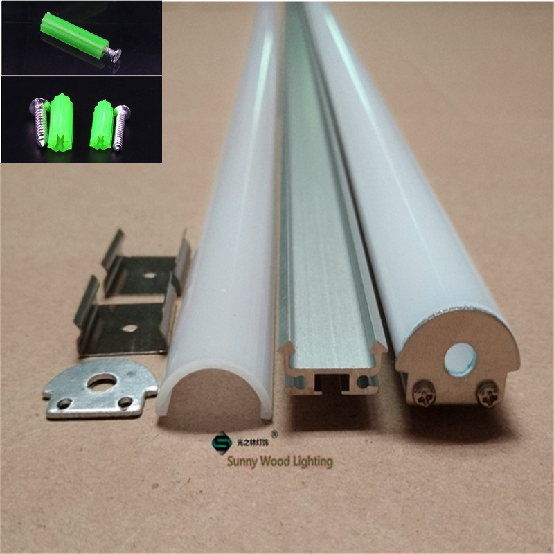 5 30pcs lot 40inch 1m led bar light housing aluminium profile for 8 13mm pcb semi