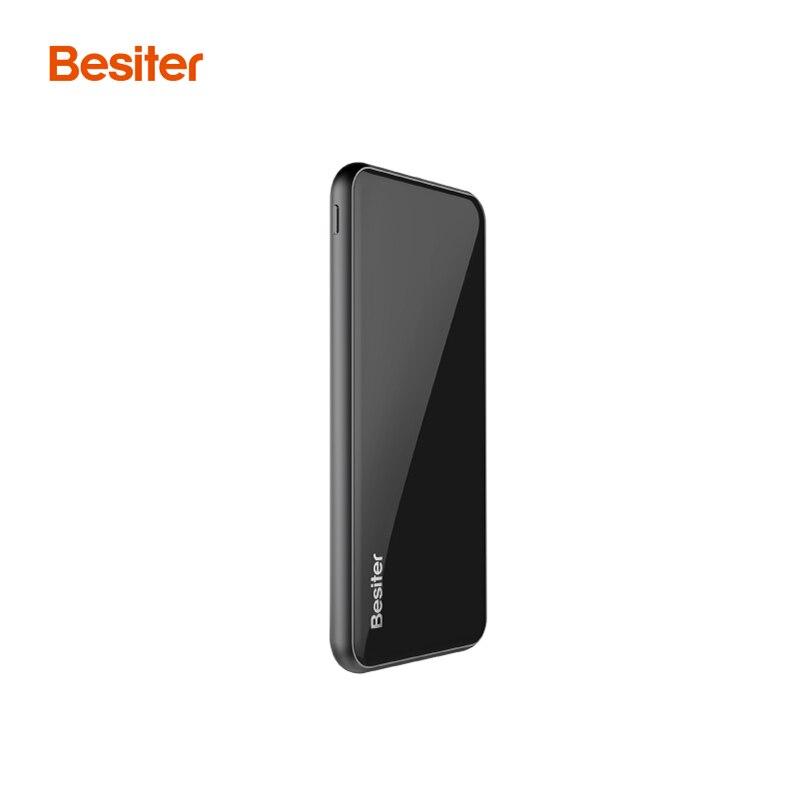 Besiter banco de la energía 5000 mah cargador de batería portátil para teléfonos