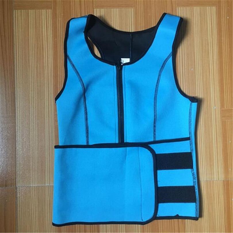 020afa9e45 Dropwow NEW Neoprene Sauna Vest Body Shaper Slimming Waist Trainer ...