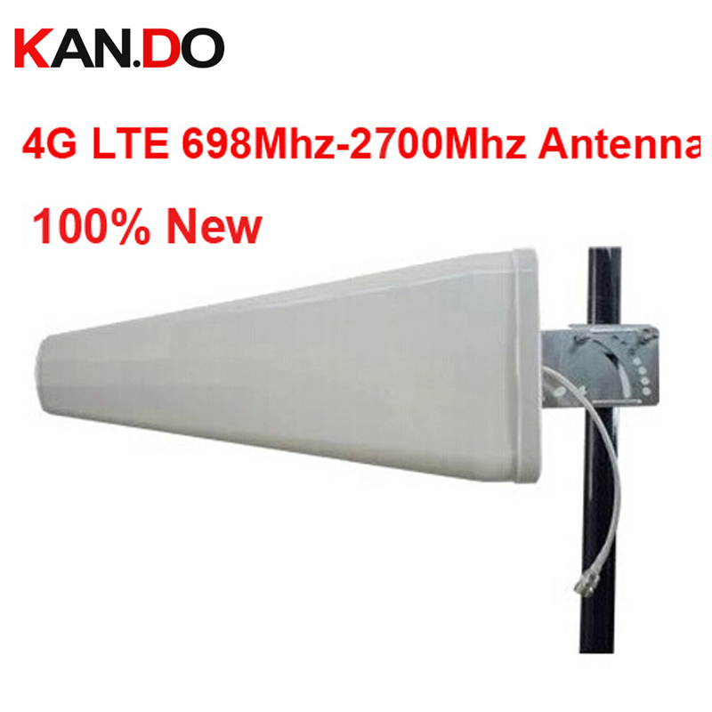 For Russia 11dbi 4G Antenna 698-2700Mhz LTE Outdoor LDP Panel Antenna Booster,Logarithm Directional Antenna 4G Booster Antenna
