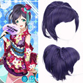 Paidian Cheap Love Live! New Nozomi Tojo straight Short Anime Cosplay Wig Synthetic Hair Costume Party Wigs