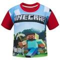 2017 Boys Summer Short sleeve Jogging Cartoon T Shirt Tops Tee Children Clothing baby boy clothes T-Shirts Girls T Shirt Enfant