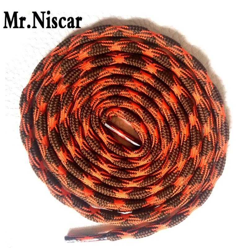 Mr.Niscar 5 Pair 15 Color Dia 0.4cm Hiking Sports Sneaker Shoelaces 120cm Round Shoelace 140cm Polyester Shoe Laces 160cm Rope