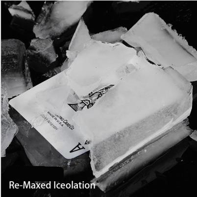 Free shipping! Re-Maxed Iceolation - Card Magic Tricks,stage magic,close up,magic props,comedy,mentalism
