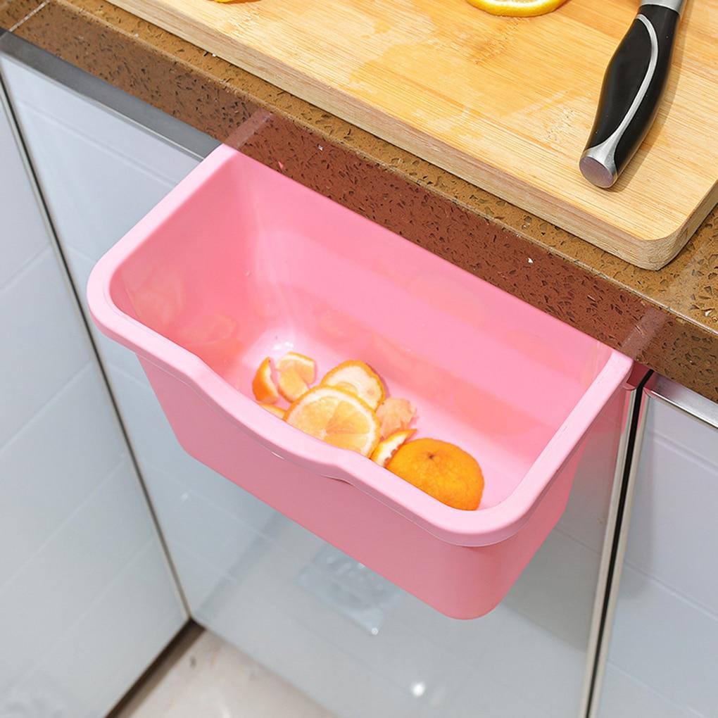 Kabeļu atkritumu glabāšanas kaste Kabineta pārnēsājama virtuve Virtuves durvju pakaramais miskastes krātuves kārba Virtuves virtuve