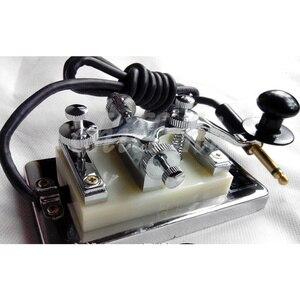 Image 2 - Radio à ondes courtes Morse code Morse CW pièce secrète accessoire de production dénergie Changshu K4 clé K 4 main