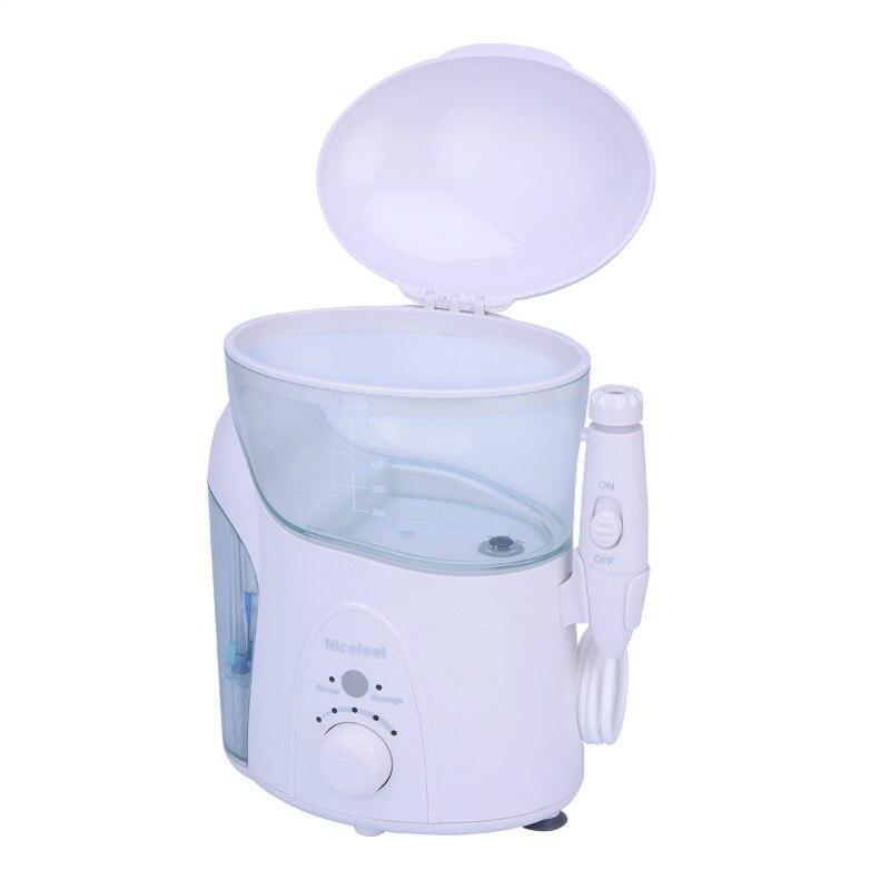 Nicefeel Soie Dentaire Hydropulseur Jet D'eau Flosser Dents Cleaner 600 ML Soins Hygiène Bucco-dentaire Irrigador Dentaire Oral Irrigation