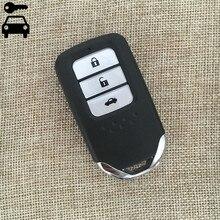 Auto llave del tirón del coche plegable remoto clave para honda accord novena tarjeta dominante alejada con id47 crider 434 mhz frecuencia