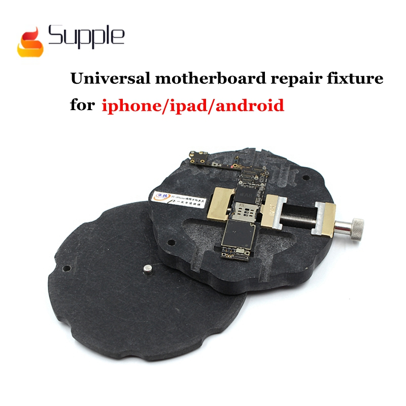 Supple Universal phone repair motherboard fixture for iphone5S 6SP 7 8P fixed rotary fixture for ipad and for android phone belts salvatore ferragamo belts