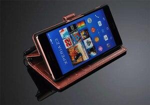 Image 5 - พรีเมี่ยมกระเป๋าสตางค์หนังสำหรับ Sony Xperia 5 10 Z1 Z2 Z3 Z4 Z5 Premium XA1 XZ XZ1 XZ2 XA2 c3 S39H ขนาดกะทัดรัด Ultra PLUS พลิกกรณี