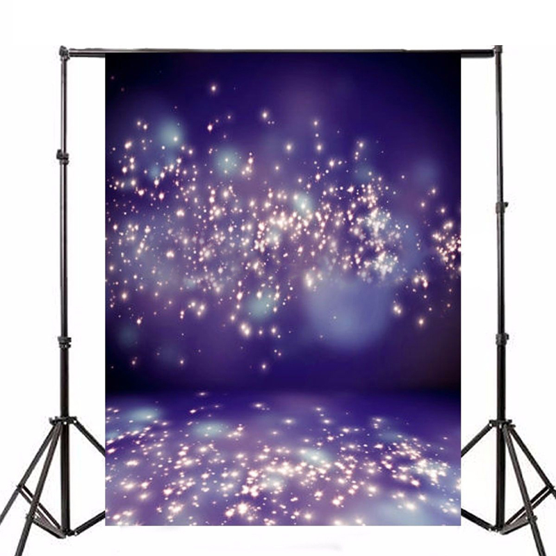 Mayitr 7x5FT Purple Fantasy Photography Background Romantic Sky Vinyl Cloth Backdrop For Studio Photo Props 200 300cm 6 5 10ft studio backdrop for alentine s day vinyl custom photography letter combinations romantic colorful for youth