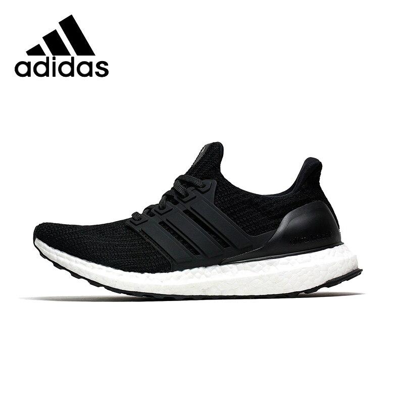 b2aeceead784e8 Оригинальные аутентичные ADIDAS Ultra BOOST мужские кроссовки с сеткой  дышащий Легкий стабильность спортивные туфли удобные BB6166