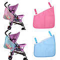 Baby Infant Cart Pram Stroller Mesh Hanging Bag Pushchair Storage Net Bag Baby Stroller Accessories Side Bag