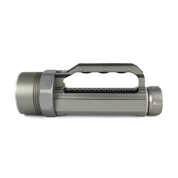Haute luminosité XM L2 9000 Lumen 6X CREE XML L2 LED professionnel plongée linternas étanche lampe de poche pour 26650/32650 - 2