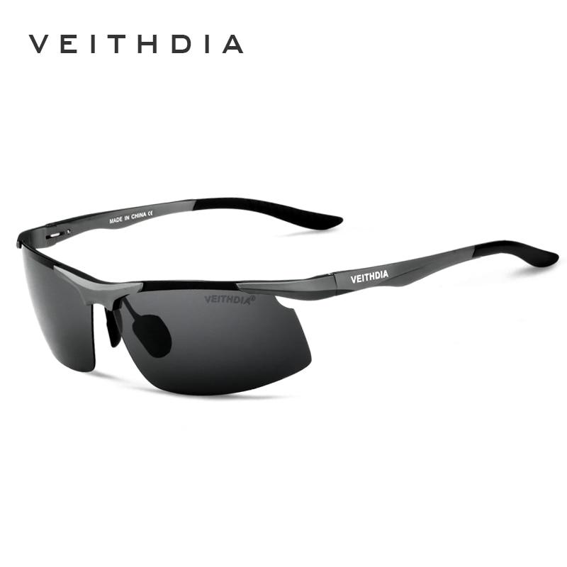 Brand Aluminum Men 39 s Polarized Sunglasses Rimless Rectangle Sun Glasses Male Eyewear Accessories For Men 6535 in Men 39 s Sunglasses from Apparel Accessories