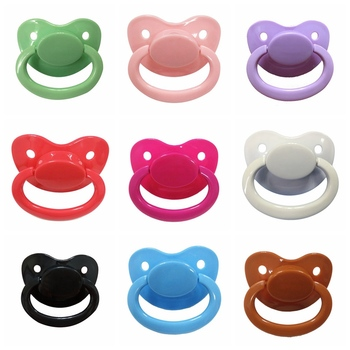 2020 Good Custom Big Size Silicone Adult Pacifier Baby Care Accessories