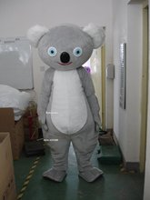 High quality Adult size Cartoon Mascot Costume mascot cosplay halloween koala costume christmas Crazy Sale