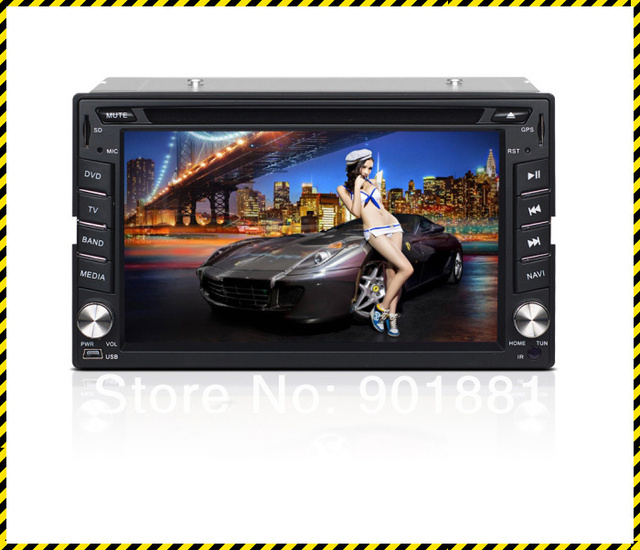 "Undercut 15% 2013 NEW 6.2"" double din bluetooth car stereo WINCE6.0 Map GPS HD WIFI 3G DTV 1080P RDS Canbus I-Pod FM BT Steering"