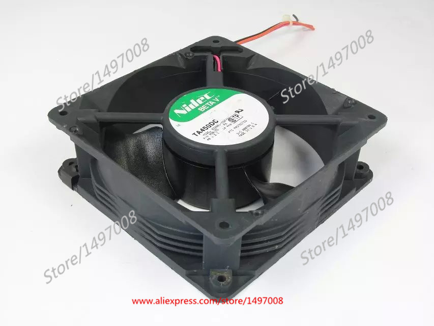 Free Shipping For Nidec B32861-33A DC 48V 0.14A 3-wire 90mm 120X120X38mm Server Square Cooling fan original for nidec ta550dc a34885 90 14070 12v 5 0a server cooling fans