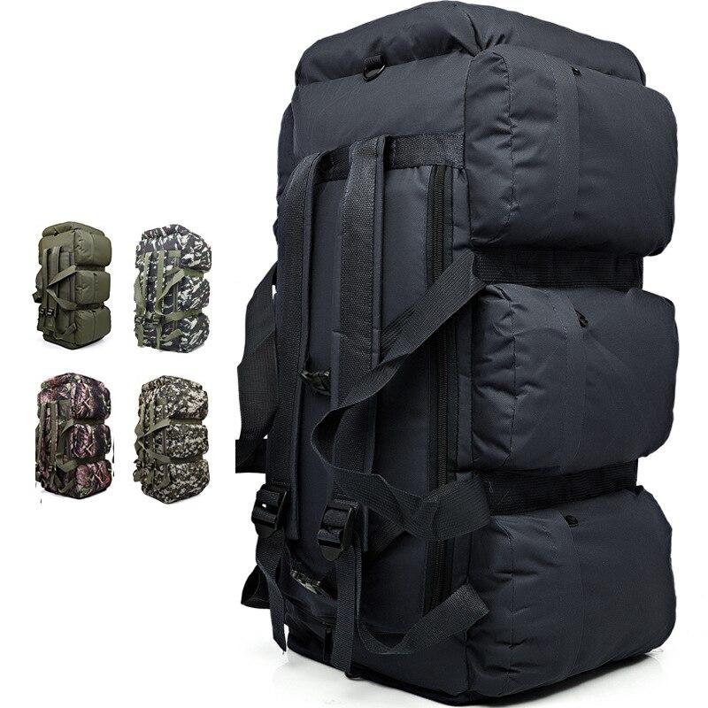 90L Camping sac à dos sacs tactiques escalade militaire sac à dos grand bagage sacs à dos Camouflage extérieur sac à bandoulière XA280WA - 6