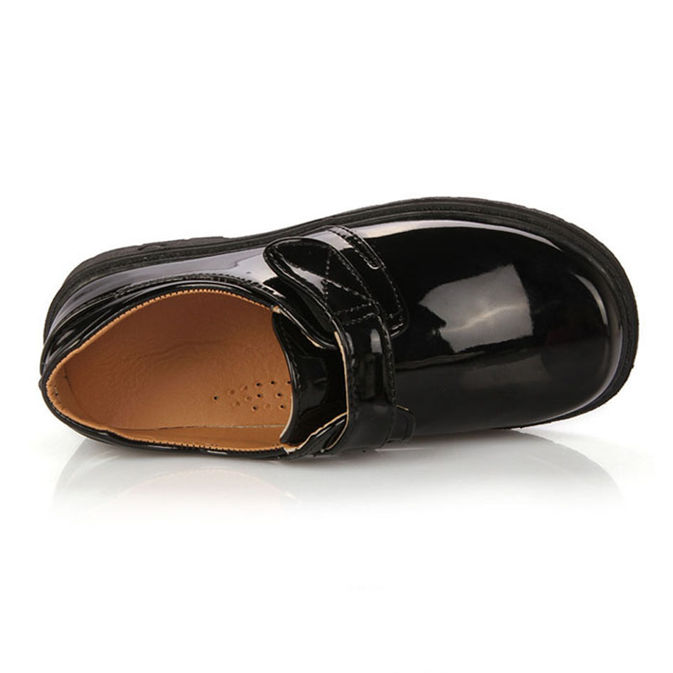 5b24f321010 Patent PU Boys Dress Shoes For Party Kids Boy Black School Shoes Wedding  Leather Shoes For Teenagers Chaussure Garcon-in Leather Shoes from Mother   Kids  on ...