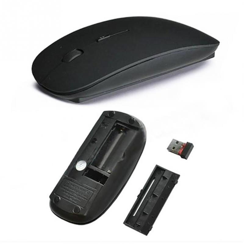 Candy Color Ultra Thin Wireless 2 4GHz USB Cordless Optical Scroll Mouse Mice For PC Laptop Computer in Mice from Computer Office