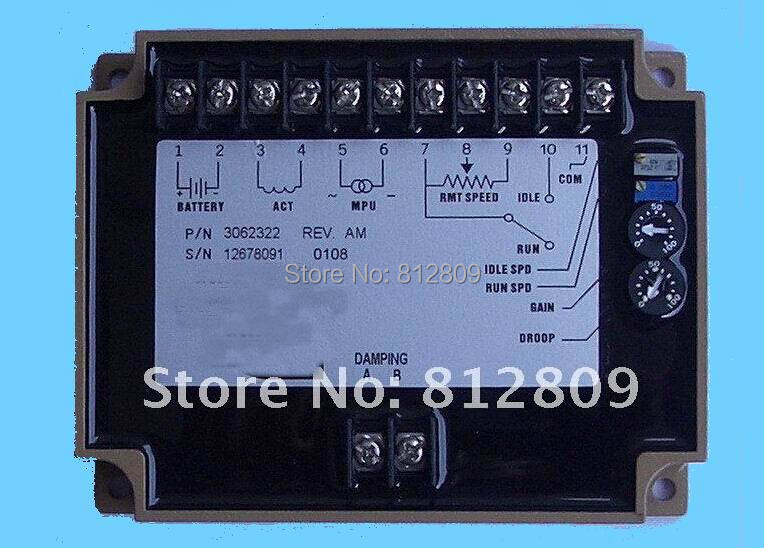 speed controller for diesel engine governor 3062322 FREE FAST SHIPPING BY UPS ,TNT ,DHL ,FEDEX,.... недорого