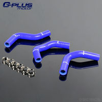 Silicone Radiator Hose Kit For SUZUKI SWIFT 1 3 G13 GTI 89 00