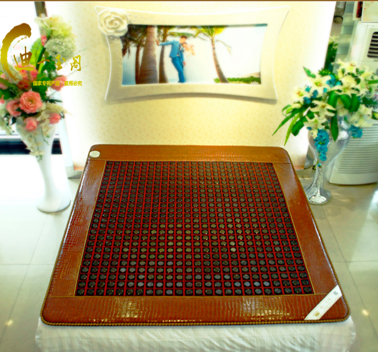 2015 New Cheap Electric Jade Mat Heating Sauna Mattress Massager for Bed Jade Mattress 1.0X1.9M Free Shipping