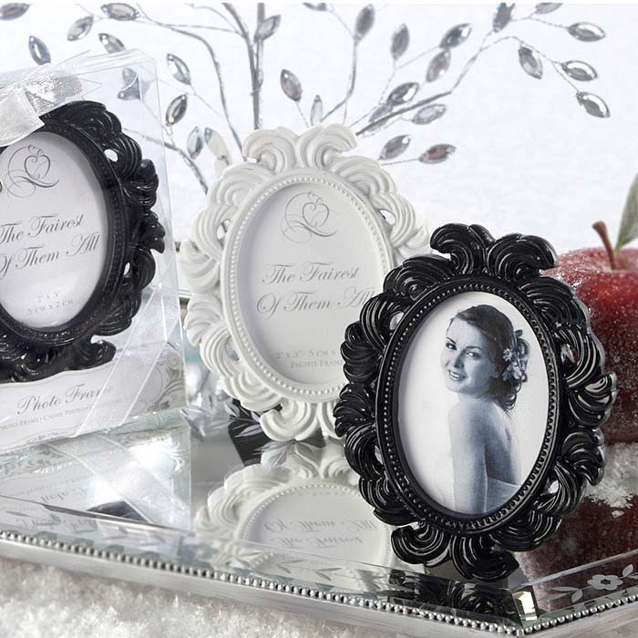 wholesale wedding favors oval baroque placecard holder party supplies photo frame wedding favors200pcs