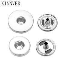 10 pçs/lote atacado cobre 12mm 18mm snaps botão acessórios para diy snap jóias botão pulseiras acessórios