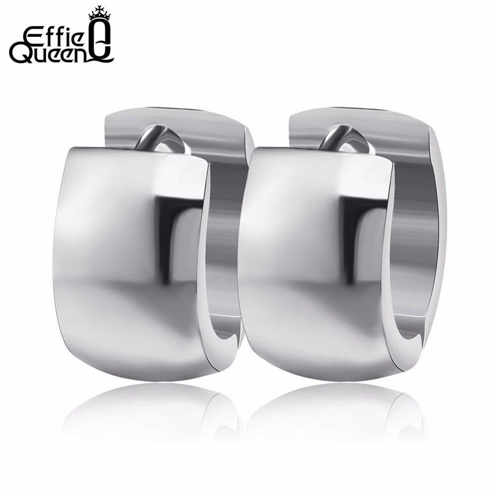 Effie Queen 316L Stainless Steel Ear Stud Earringss