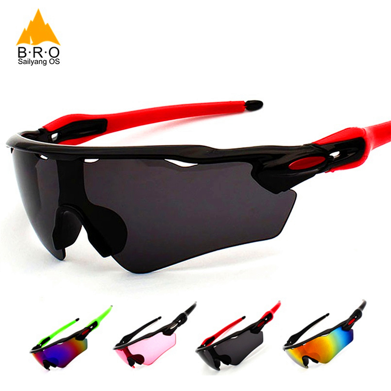 Glasses for Bicycles UV400 Men Cycling Sunglasses Brazil US Dropship Epacket Sun Glasses Women MTB Bike Eyewear Sports Goggles(China)
