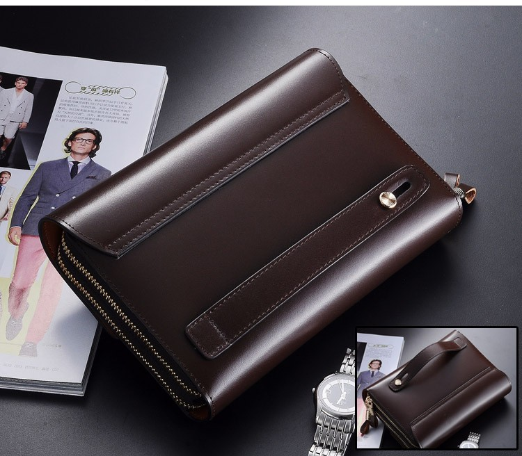 High Quality mens clutch wallet