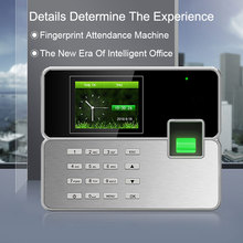 Biometric Time Attendance System Fingerprint TCP/IP USB Reader Time Clock Recorder Employees Device Fingerprint Time Attendance цены онлайн