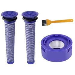 Лидер продаж Post мотор HEPA фильтры для замены Dyson V8 V7 беспроводной вакуумный очистители (3 шт.)