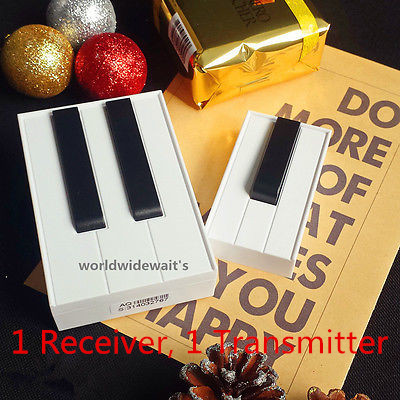 100M 315Mhz 25 Music Songs White Black Piano Digital Wireless Remote Control DoorBell 1 or 2 Transmitter 1 or 2 Receiver Beeper